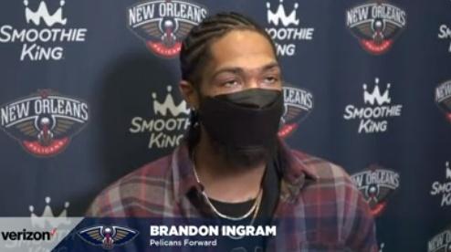 英格拉姆:这场失利负我要负很大责任 我本该命中那两次罚球